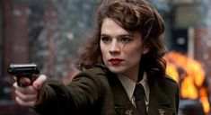 Haley Atwell as Claire Beauchamp Randall Fraser Grey Fraser