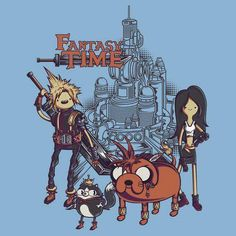 Fantasy Time Final Fantasy + Adventure Time