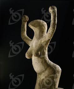 Clay Bird Diety Statuette of a Woman, Egypt,  Predynastic, before 3000 BCE. Credit Line: Werner Forman Archive/ British Museum, London