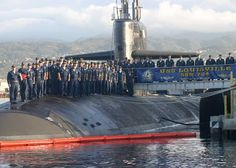 USS Louisville, SSN-724, Attack submarine, Los Angeles class. Commissioned Nov 8, 1986.