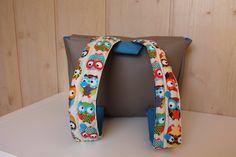 Cartable maternelle simili cuir et coton- sac à dos enfant- sac d'école