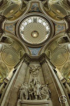 Panthéon, Paris, France, photo by Anthony GELOT.