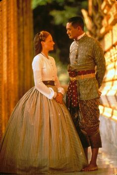 Some nice costumes in this film, even though it's not my favorite film.