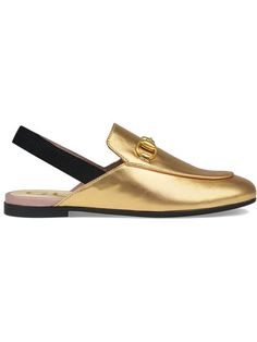2cec0c8dd2c Shop Gucci Kids Children s Princetown leather slipper.