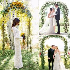7.9 Ft Metal Wedding Arch For Party Prom Beach Garden Ceremony Floral Decoration #MTO