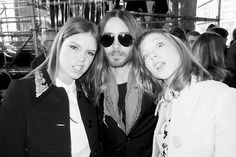 Adele Exarchopoulos, Jared Leto, and Lea Seydoux in Paris.