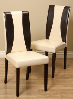 AQUALINK NEVADA, LLC Savana Bi-cast Leather Chairs (Set of 4)