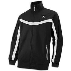 Jordan Team Jacket - Men's - Black/White