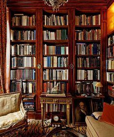 Books always make a room.