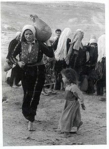 A Palestinian woman driven out of modern-day Israel
