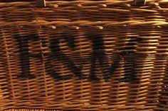 Vintage Fortnum &Mason London Wicker Car/ picnicHamper/ Toy Box