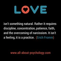 Do you agree with Erich Fromm?  If you like psychology, you'll love www.all-about-psychology.com #psychology