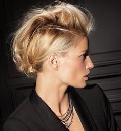 Coiffure de soirée : Mes cheveux, je les attache !