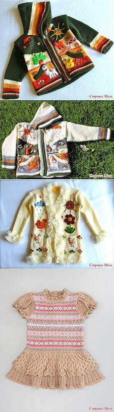 Новинки детской моды: идеи для вязания. - Страна Мам