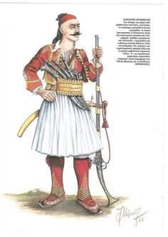 Greek Independence, Greek Warrior, Greek Clothing, Albania, Victorian Era, 18th Century, Ottoman, Miniatures, Military