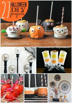 Planning a Halloween party or just love to decorate? These DIY projects are perfect for the spookiest time of the year. #halloween #diy #burlington