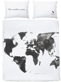 The World Is Yours Bed Cover to 2 persons) Travel Must Haves, Studio C, Bed Covers, World, Home, Decorations, Quilt Bedding Sets, The World, Daybed Covers