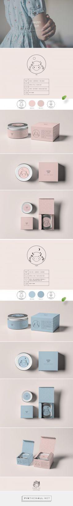 Shizen lujo empaquetado cosmético de Paulina Helena Undziakiewicz | Agencia de Branding Fivestar - Diseño y la Agencia de Branding & Inspiration Gallery Curada