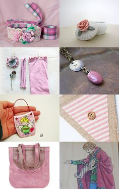 Pink august trends by Natasha on Etsy--Pinned with TreasuryPin.com