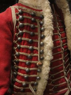 Red uniform jacket from Musée de l'Armée, by Monceau on flickr