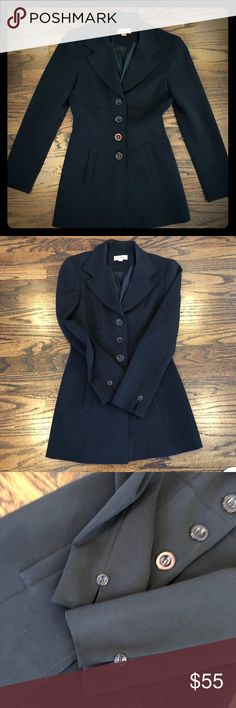 🌺Bebe Black Blazer Very stylish black blazer by Bebe. In great condition. bebe Jackets & Coats Blazers