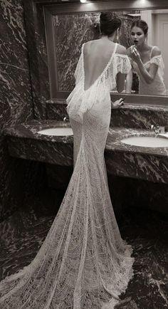 Sırt Dekolteli Gelinlik Modelleri /8 - Moda - Mahmure Foto Galeri