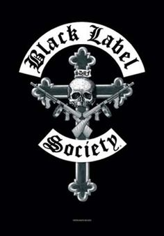 Black Label Society Crucifix Fabric Poster – Iconic Shop - Online Retailer of T-Shirts, Music, Glassware, Accessories and more! Heavy Metal Rock, Heavy Metal Music, Heavy Metal Bands, Black Label Society, Rock Posters, Band Posters, Music Posters, Concert Posters, Hard Rock