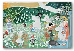 Moomin The Collection - Moomin Dangerous Journey Placemat