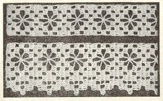 Little Grey Bungalow: Crochet - Lace and Insertion from 1948