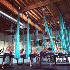Fresh Air - Class at AIR® aerial fitness