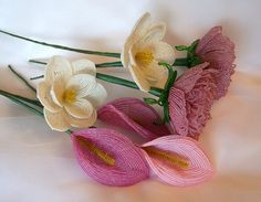 French Beaded Flowers | Flickr - Photo Sharing!