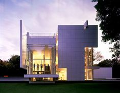 Rachofsky House by Richard Meier Richard Meier, Beautiful Architecture, Contemporary Architecture, Art And Architecture, Architecture Details, Famous Architects, Residential Architecture, House Design, Brickwork