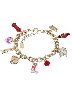London Novelty Charm Bracelet