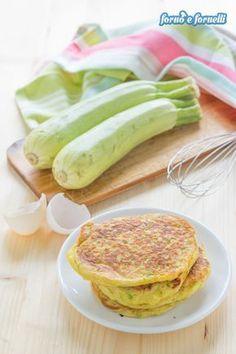 Pancake di zucchine: sofficissimi e buonissimi! - Forno e fornelli
