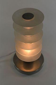 1930.fr Impressive Modernist lamp. Desny ? Damon ? - Lighting - Art deco sculptures bronze clocks vases