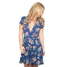 June Bloom Floral Skater Dress
