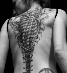 Not something I would do...but that is a great tattoo.
