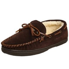 4a549b337a1 Men s Suede Moccasin Slipper - Rootbeer - CH111USCV8R