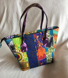ac587944c4 The Chika in patchwork bag. No two are alike -