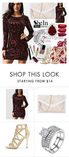 """""""1#SheIn"""" by fatimka-becirovic ❤ liked on Polyvore featuring Sergio Rossi"""