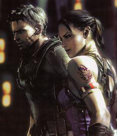 Resident Evil 5 - Chris Redfield and Sheva Alomar