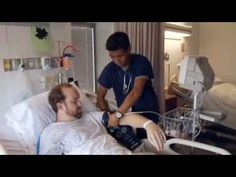 """Watch """"A Day in the Life"""" video about Romel, a staff This is his first job out of and he loves it! """"The possibilities of being a nurse are endless,"""" said Romel. Becoming A Registered Nurse, First Job, Life Video, Nursing Students, The Life, Nurses, Multimedia, How To Become, Medical"""