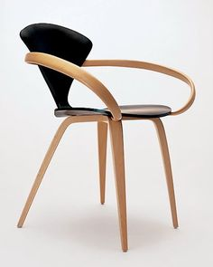 Cherner - chair Cacxx Ebony Beech