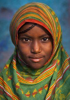 Afar Tribe Girl, Assayta, Ethiopia by Eric Lafforgue