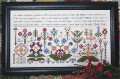 This listing is for the cross stitch pattern only - not the completed cross stitch - and the threads and fabric are sold separately. Description from ebay.com. I searched for this on bing.com/images