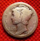 1921 D Mercury Silver Dime---Semi Key Date Coin