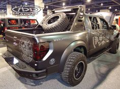 Ford Raptor Rear Bumper with Custom Chase Rack