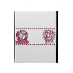 Customize this Virgo Leo friendship designs by Valxart iPad Cases