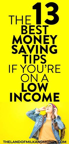 These living on a low income tips are great! I so need to know how to save money fast on a low income as I can't seem to figure out how to make a budget on minimum wage. So these personal finance ideas for how to live on a budget and save money on a … Money Plan, Money Tips, Money Saving Tips, Money Budget, Money Savers, Saving Ideas, Living On A Budget, Frugal Living Tips, Simple Living