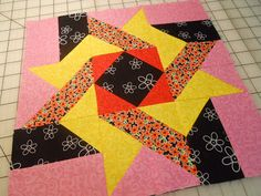 Sunrise by Dawn Stewart of Spring Water Designs, appears in Quiltmaker's 100 Blocks Volume 6. Blog Tour: http://www.quiltmaker.com/blogs/quiltypleasures/